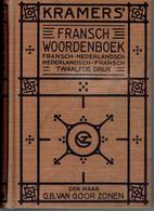 Kramer's Fransch Woordenboek, Twaalfde Druk, Den Haag G.B. Van Goor Zonen (1932) In Perfekte Staat ! - Dictionaries
