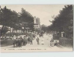 14 CABOURG ... Le Rond-Point - La Station Des Voitures (LL 44) - Cabourg