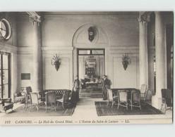 14 CABOURG ... Le Hall Du Grand Hôtel - L'entrée Du Salon De Lecture (LL 113) - Cabourg