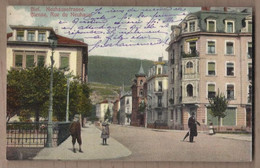 CPA SUISSE - BIEL - Neuhausstrasse - BIENNE - Rue Du Neuhaus TB PLAN CENTRE VILLE ANIMATION - BE Berne
