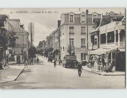 14 CABOURG ... L'Avenue De La Mer (LL 43) - Cabourg