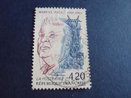 """1990-99 Oblitéré N° 2777    """"     Marcel Paul   """"   """"    Courcouronnes   """"      Net   0.30 - Used Stamps"""