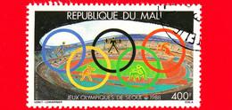 MALI - Nuovo Oblit. - 1988 - Sport - Olimpiadi Estive, Seul - Stadio, Anelli Olimpici - 400 - P. Aerea - Mali (1959-...)