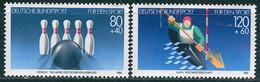 BRD - Mi 1238 / 1239 - ** Postfrisch (G) - 80+40-120+60Pf              Sporthilfe 85 - Unused Stamps
