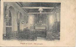 CARTE POSTALE CHAPELLE DE LYNCK - NEF PRINCIPALE - Andere Gemeenten