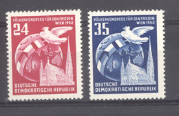 RDA  :  Mi  320-21  ** - Unused Stamps