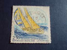 """1990-99 Oblitéré N° 2789    """"    Postiers Autour Du Monde     """"  """"   Etampes   """"   Net   0.50   Photo    3 - Used Stamps"""