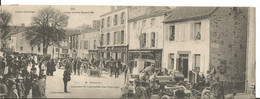 63 PONTAUMUR Carte Double Circuit D'Auvergne, Coupe GORDON BENNET 1905 - Altri Comuni