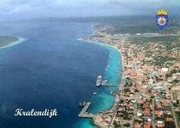 Bonaire Kralendijk Aerial View New Postcard - Bonaire