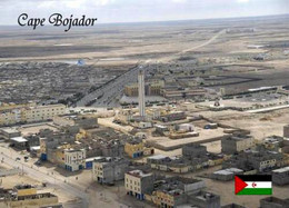 Western Sahara Cape Bojador Lighthouse Aerial View New Postcard Westsahara Leuchtturm AK - Western Sahara
