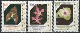 Ecuador 1994. Mi.Nr. 2258+2260+2262, Used O - Ecuador