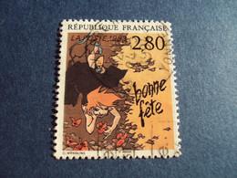 """1990-99 Oblitéré N° 2836    """"   Plaisir Ecrire      """"  """"    Auxerre  """"   Net   0.40 - Used Stamps"""