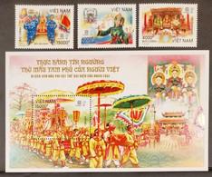 Vietnam Viet Nam MNH Perf Stamps & SS 2020 : MOTHER GODDESSES OF THREE REALMS WORSHIP OF VIETNAMESE / Heritage (Ms1137) - Vietnam