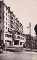 Tulle Avenue De La Gare Animee Vieilles Voituretraction Au Dos Timbre Tour De France Cycliste 1903-1953 - Tulle