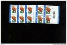 Belgie Boekje Carnet 2008 B92 BUZIN Flowers Tulip 3786 - Booklets 1953-....