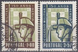 PORTUGAL 1954 Nº 811/12 USADO - Used Stamps