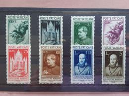 VATICANO - Expo Stampa Cattolica Nn. 47/54 Nuovi * (n. 49 Difettoso Non Calcolato) + Spese Postali - Unused Stamps