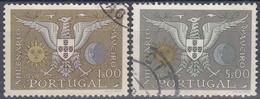 PORTUGAL 1959 Nº 857/58 USADO - Used Stamps