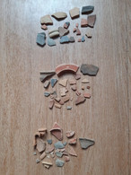 2 Lots De Céramiques Antiques, Var - Archaeology