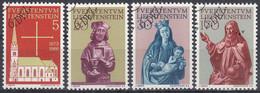 LIECHTENSTEIN 1966 Nº 418/21 USADO - Ohne Zuordnung