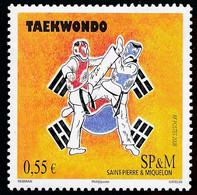 ST-PIERRE ET MIQUELON 2008 - Yv. 927 **   Faciale= 0,55 EUR - Sport Taekwondo  ..Réf.SPM12489 - Unused Stamps