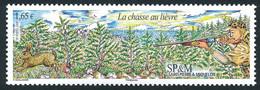 ST-PIERRE ET MIQUELON 2008 - Yv. 937 **   Faciale= 1,65 EUR - La Chasse Au Lièvre  ..Réf.SPM12497 - Neufs
