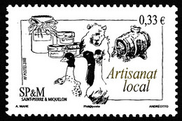 ST-PIERRE ET MIQUELON 2008 - Yv. 917 **  - Artisanat Local. Oies  ..Réf.SPM12470 - Neufs