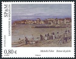 ST-PIERRE ET MIQUELON 2008 - Yv. 924 **   Faciale= 0,80 EUR - Art. Tableau 'Retour De Pêche'  ..Réf.SPM12480 - Neufs