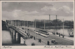 Magdeburg - Brücke Der Magdeburger Pioniere - Ca. 1950 - Magdeburg
