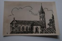 CPSM - FRONTONAS (38) - L'église - Other Municipalities