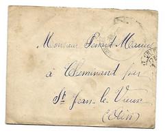 Lettre D'un Militaire à Sa Famille 20/11/1918 Saint-Jean-le-Vieux - Historical Documents