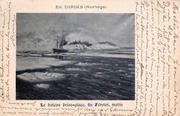 Norway - Norge - Norvège - Le Bâteau Brise-Glace - Fin Février Le Matin - The Boat Ice Breaker - Autres
