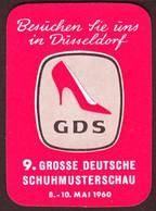 """Düsseldorf 1960 """" GDS Große Deutsche Schuh-Mustermesse """" Vignette Cinderella Reklamemarke - Cinderellas"""