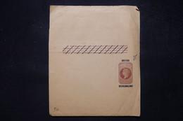 BECHUANALAND - Entier Postal Type Victoria ( Pour Imprimés) Surchargé - L 81049 - 1885-1895 Kronenkolonie