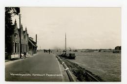 D576 - Papendrecht - Merwedegezicht - NEWO Fotokaart 1938 - Boot Schip - Other