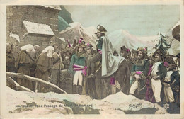 G0712 - NAPOLEON 1er - Le Passage Du Mont St Bernard - Historische Figuren