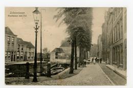 D581 - Schoonhoven Voorhaven Met Tol - Uitg V Emmerik - Kaart Van 1916 - Schoonhoven