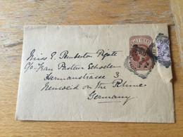 K13 Großbritannien Ganzsache Stationery Entier Postal S 7 From Guildford To Neuwied - Briefe U. Dokumente