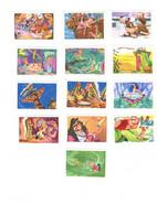 Lot De 13 Vignettes Images Publicitaire Le Chocolat Tobler Peter Pan Walt Disney Pour Album Tobler En TB.Etat - Reclame