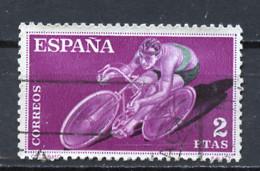 Espagne - Spain - Spanien 1960 Y&T N°993 - Michel N°1211 (o) - 2p Cyclisme - 1951-60 Used