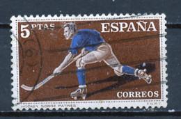 Espagne - Spain - Spanien 1960 Y&T N°996 - Michel N°1214 (o) - 5p Hockey Sur Patins - 1951-60 Used