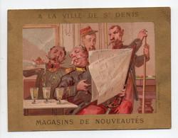 - CHROMO A LA VILLE DE SAINT DENIS - MAGASINS DE NOUVEAUTÉS, PARIS - Litho. LAURONCE - - Altri