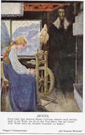 "Prof. Heinrich Lefler  -   Richard Wagner's Female Figures : Senta In ""Der Fliegende Hollander"". - Andere Zeichner"