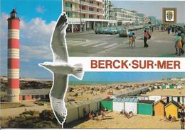 BERCK-SUR-MER Phare Esplanade Plage : Multivues - Berck