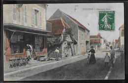 CPA 21 - Toutry, Grande Rue - RARE - Sonstige Gemeinden