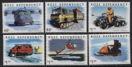 Ross Dependency (02) 2000 Antarctic Transport Set. Mint. Hinged. - Sin Clasificación