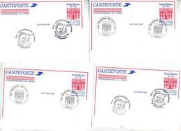 Carte Postale 2.20 Institut Pasteur Fdc Argenteuil Challenge - Standaardpostkaarten En TSC (Voor 1995)