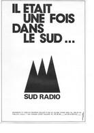 PUB 1977 SUD RADIO Toulouse - Reclame
