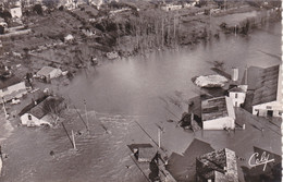 CASTELSARRASIN:vue Aérienne Des  Inondations Du 3/2/1952: N°1133 - Castelsarrasin