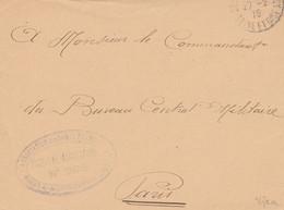 HOPITAL AUXILIAIRE 295 SOISY S/ MONTMORENCY - Devant De Lettre - Guerra De 1914-18